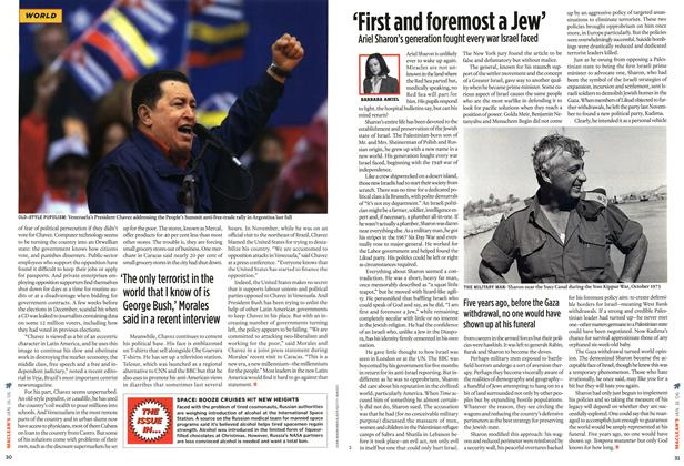 Article Preview: 'First and foremost a Jew', JAN 16th 2006 2006 | Maclean's