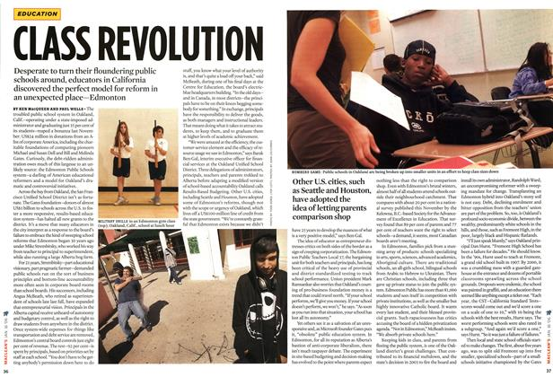 Article Preview: CLASS REVOLUTION, JAN 16th 2006 2006 | Maclean's