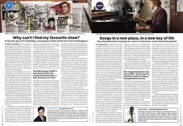 Article Preview: Why can't I find my favourite show?, JAN 23 2006 | Maclean's