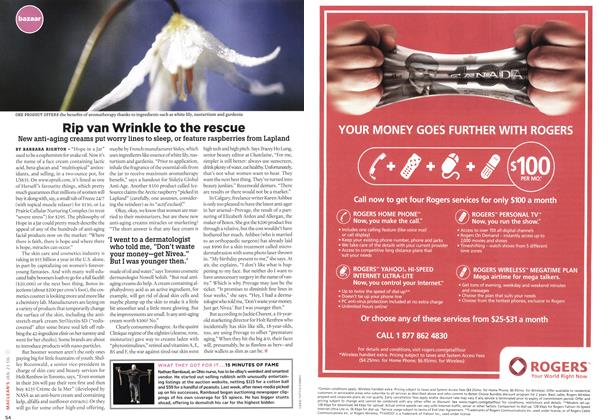 Article Preview: Rip van Wrinkle to the rescue, JAN. 23rd 2006 2006 | Maclean's