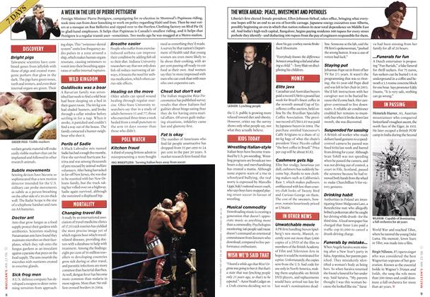 Article Preview: 7 DAYS, JAN. 23rd 2006 2006 | Maclean's
