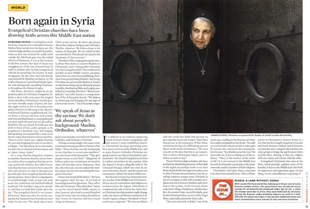 Article Preview: Born again in Syria, January 2006 | Maclean's