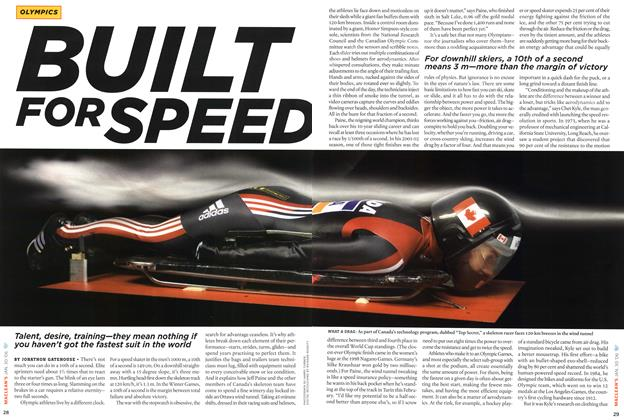 Article Preview: BUILT FOR SPEED, January 2006 | Maclean's