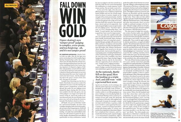 Article Preview: FALL DOWN, January 2006 | Maclean's