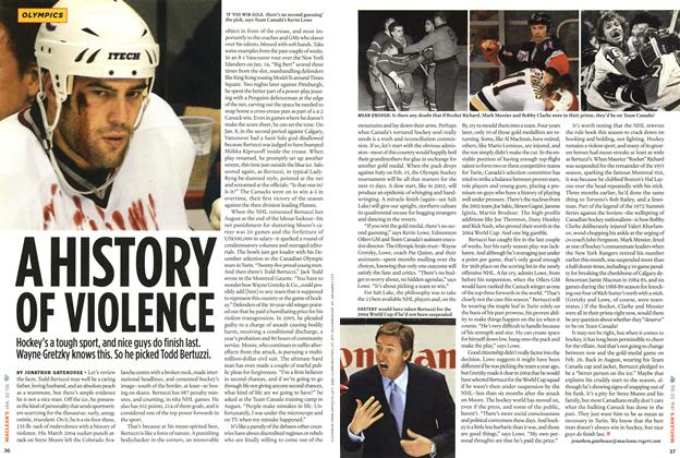Article Preview: A HISTORY OF VIOLENCE, January 2006 | Maclean's
