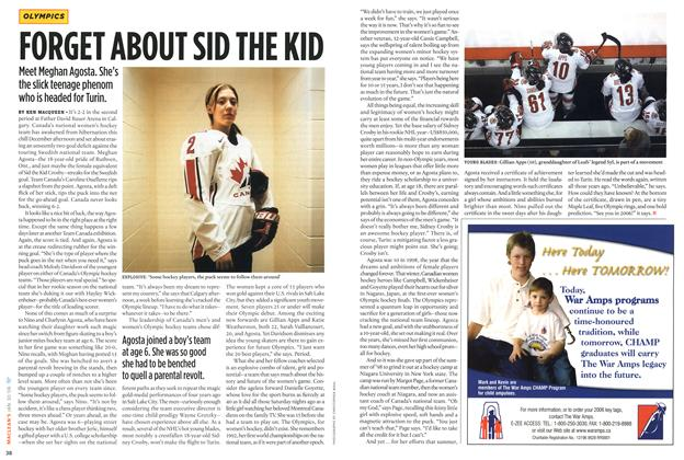 Article Preview: FORGET ABOUT SID THE KID, January 2006 | Maclean's