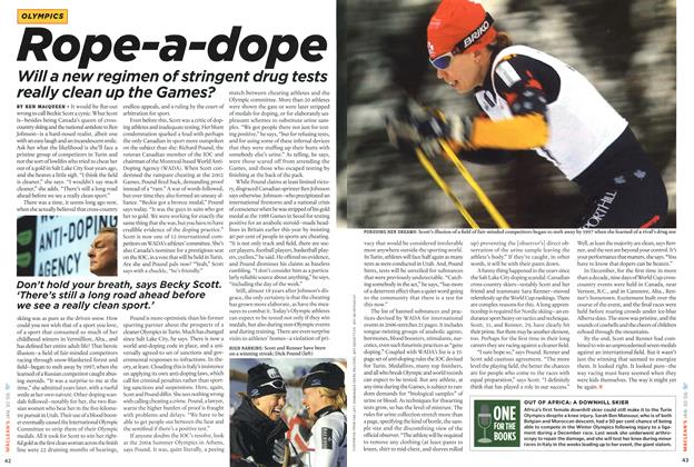 Article Preview: Rope-a-dope, January 2006 | Maclean's