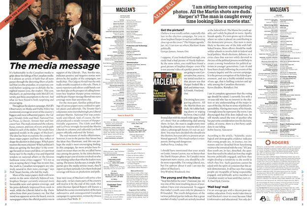 Article Preview: MAIL BAG, January 2006 | Maclean's