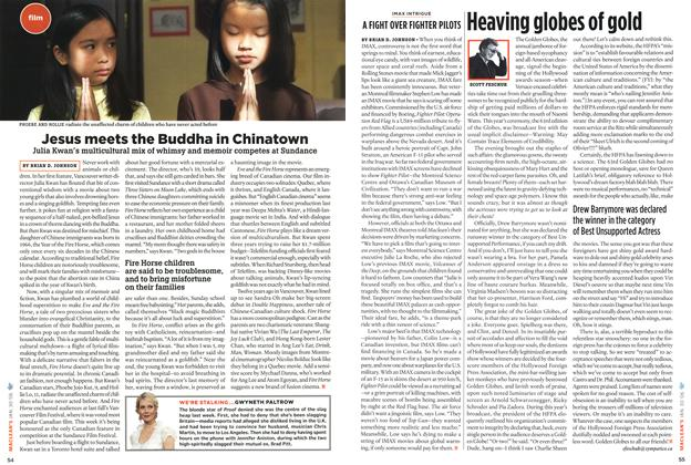 Article Preview: Heaving globes of gold, January 2006 | Maclean's