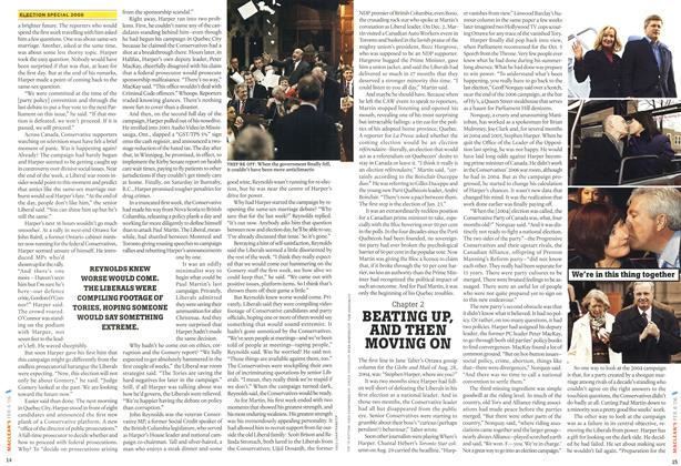 Article Preview: BEATING UP, AND THEN MOVING ON, February 2006 | Maclean's