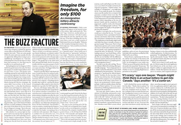 Article Preview: Imagine the freedom, for only $100, FEB. 13th 2006 2006 | Maclean's
