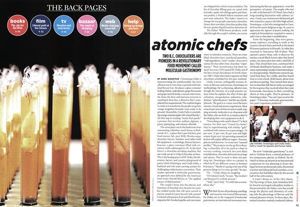 Article Preview: atomic chefs, FEB. 13th 2006 2006 | Maclean's