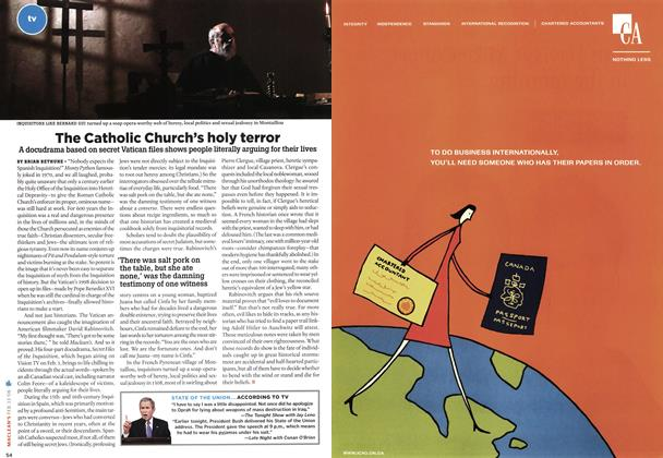 Article Preview: The Catholic Church's holy terror, FEB. 13th 2006 2006 | Maclean's