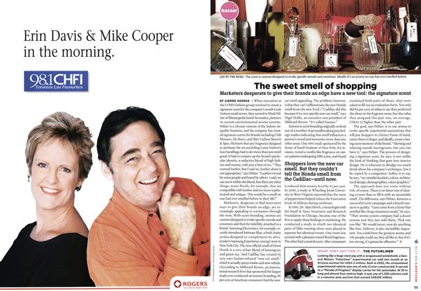 Article Preview: The sweet smell of shopping, FEB. 13th 2006 2006 | Maclean's
