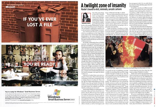 Article Preview: A twilight zone of insanity, FEB. 13th 2006 2006 | Maclean's