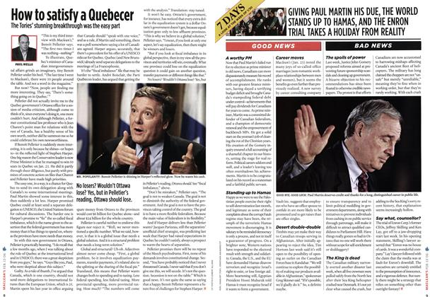 Article Preview: How to satisfy a Quebecer, FEB. 13th 2006 2006 | Maclean's