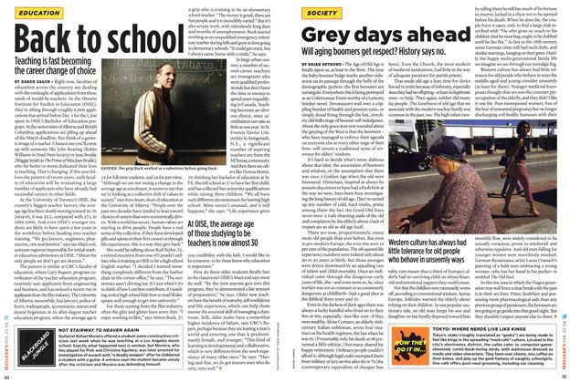 Article Preview: Back to school, February 2006 | Maclean's