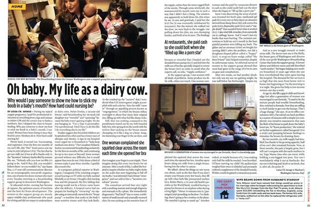 Article Preview: Oh baby. Ny life as a dairy cow., February 2006   Maclean's