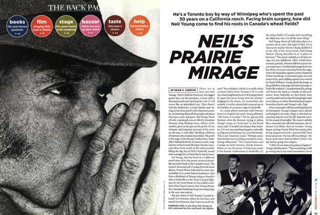 Article Preview: NEIL'S PRAIRIE MIRAGE, February 2006   Maclean's