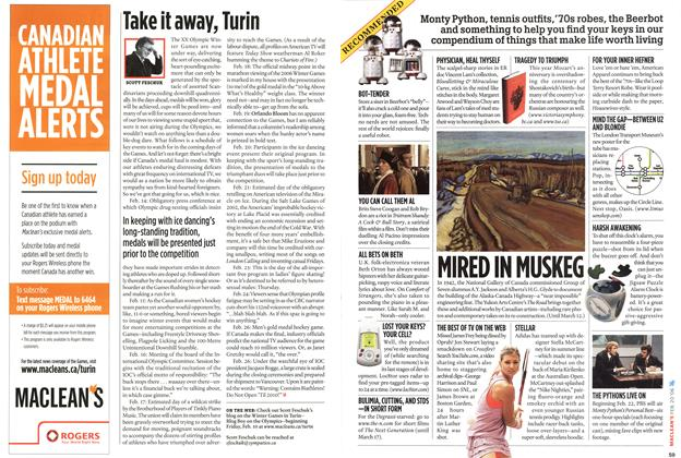Article Preview: Take it away, Turin, February 2006 | Maclean's