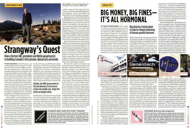 Article Preview: BIG MONEY, BIG FINES— IT'S ALL HORMONAL, FEB. 27th 2006 2006 | Maclean's
