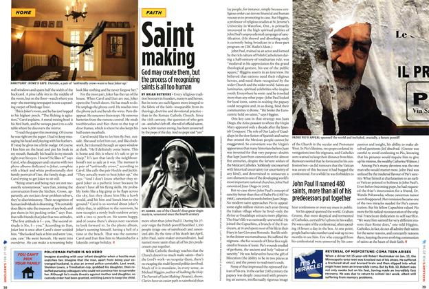 Article Preview: Saint making, FEB. 27th 2006 2006 | Maclean's