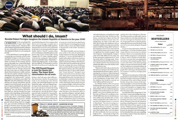 Article Preview: What should I do, Imam?, FEB. 27th 2006 2006 | Maclean's