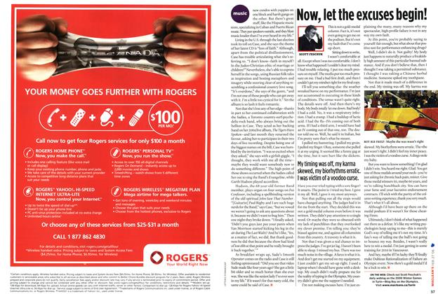 Article Preview: Now, let the excuses begin!, FEB. 27th 2006 2006 | Maclean's