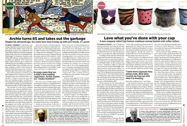 Article Preview: Love what you've done with your cup, FEB. 27th 2006 2006 | Maclean's