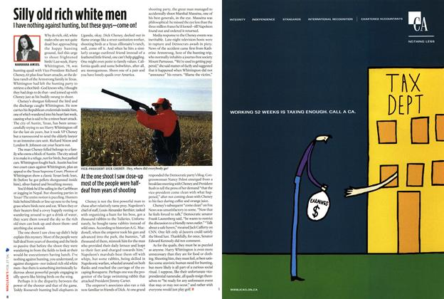 Article Preview: Silly old rich white men, FEB. 27th 2006 2006 | Maclean's