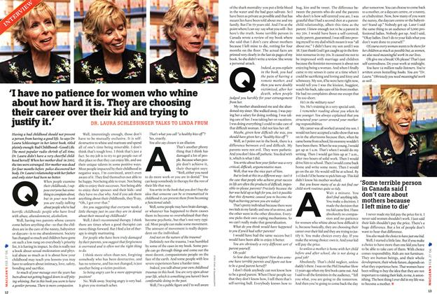 Article Preview: INTERVIEW, FEB. 27th 2006 2006 | Maclean's