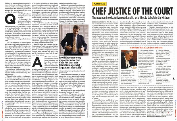 Article Preview: CHEF JUSTICE OF THE COURT, MAR. 6th 2006 2006 | Maclean's