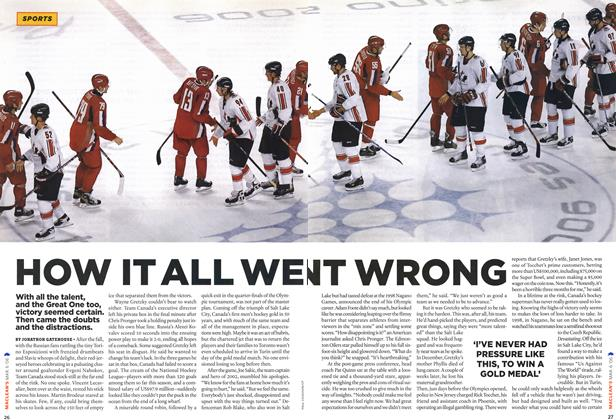 Article Preview: HOW IT ALL WENT WRONG, MAR. 6th 2006 2006 | Maclean's