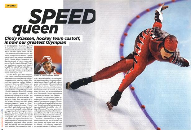 Article Preview: SPEED queen, MAR. 6th 2006 2006 | Maclean's