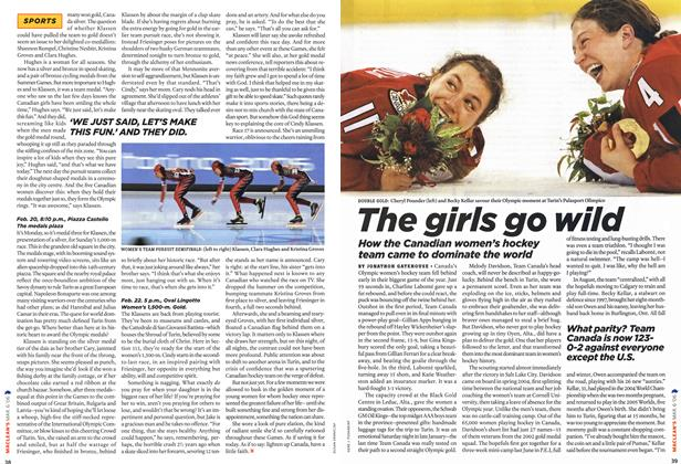 Article Preview: The girls go wild, MAR. 6th 2006 2006 | Maclean's