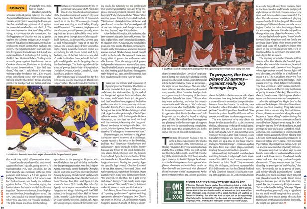 Article Preview: ONE FOR THE BOOKS, MAR. 6th 2006 2006 | Maclean's