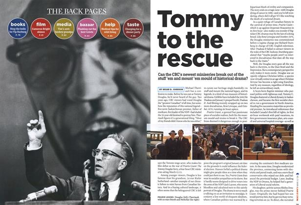 Article Preview: Tommy to the rescue, MAR. 6th 2006 2006 | Maclean's