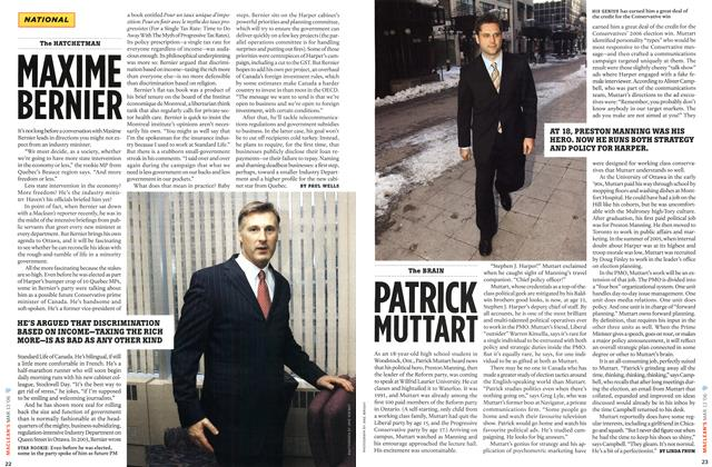 Article Preview: PATRICK MUTTART, MAR. 13th 2006 2006 | Maclean's