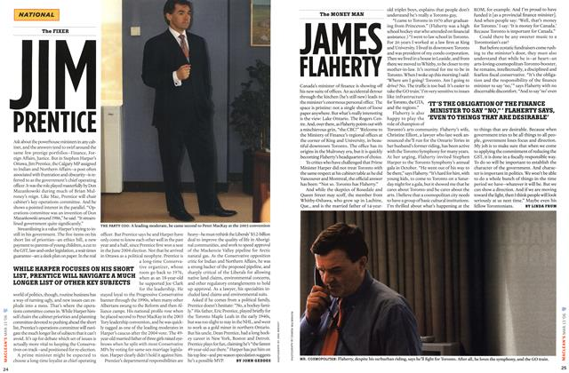 Article Preview: JAMES FLAHERTY, MAR. 13th 2006 2006 | Maclean's