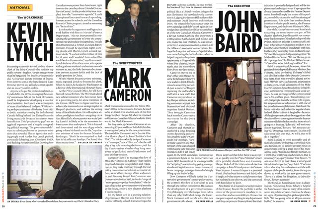 Article Preview: KEVIN LYNCH, MAR. 13th 2006 2006 | Maclean's