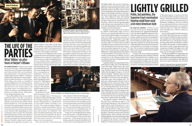 Article Preview: LIGHTLY GRILLED, MAR. 13th 2006 2006 | Maclean's