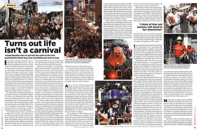 Article Preview: Turns out life isn't a carnival, MAR. 13th 2006 2006 | Maclean's
