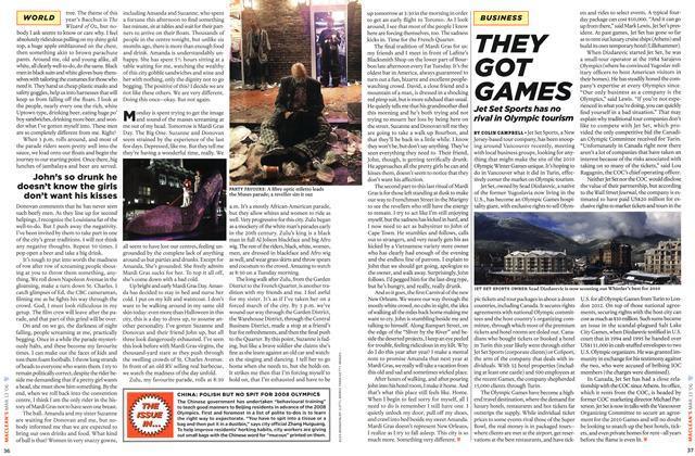 Article Preview: THEY GOT GAMES, MAR. 13th 2006 2006 | Maclean's