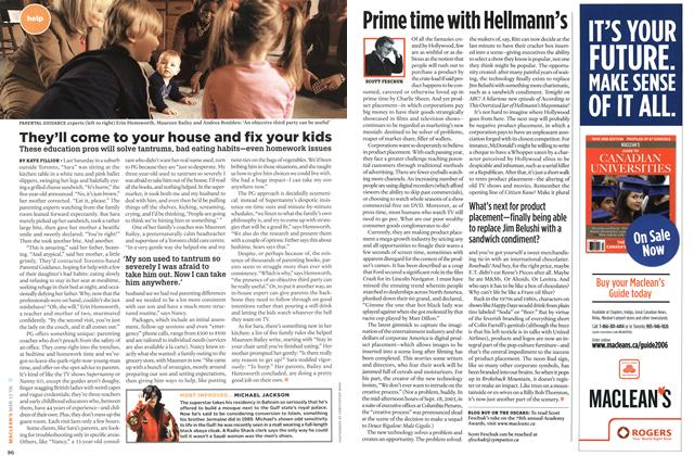 Article Preview: They'll come to your house and fix your kids, MAR. 13th 2006 2006 | Maclean's