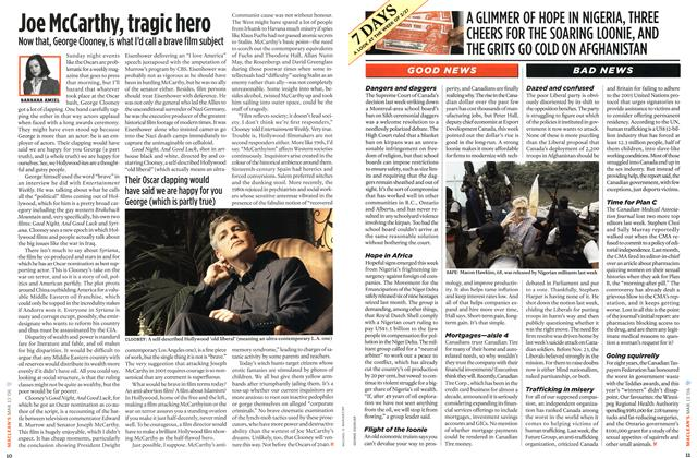 Article Preview: Joe McCarthy, tragic hero, MAR. 13th 2006 2006   Maclean's
