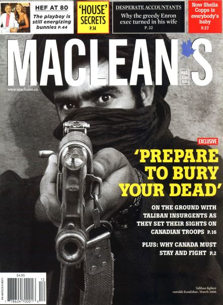 Issue: - MAR. 20th 2006 | Maclean's