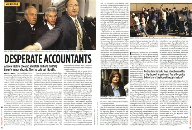 Article Preview: DESPERATE ACCOUNTANTS, MAR. 20th 2006 2006 | Maclean's