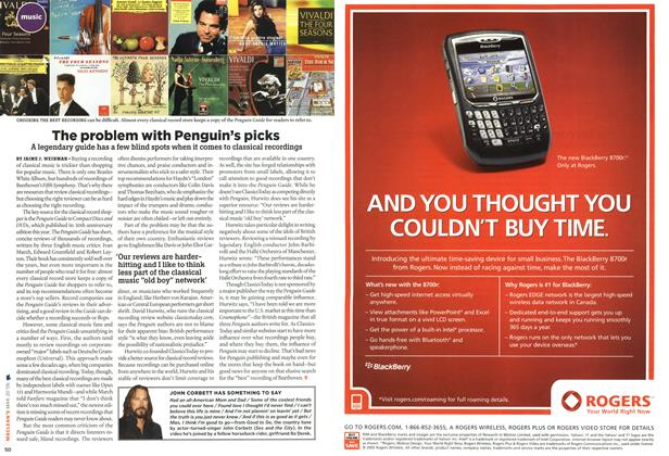 Article Preview: The problem with Penguin's picks, MAR. 20th 2006 2006 | Maclean's