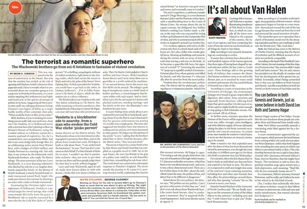 Article Preview: The terrorist as romantic superhero, MAR. 20th 2006 2006 | Maclean's