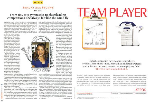 Article Preview: SHAUNA ANN STUEWE 1991-2006, MAR. 20th 2006 2006 | Maclean's